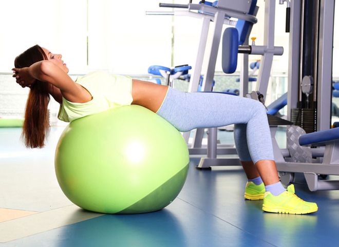 Вправи для живота і боків