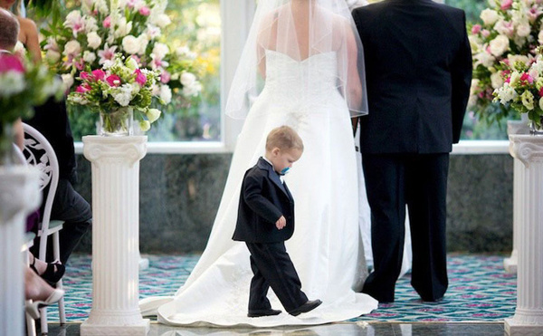 Милые и забавные свадебные снимки