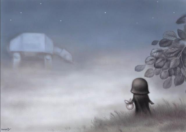 Дарт Вейдер в тумане