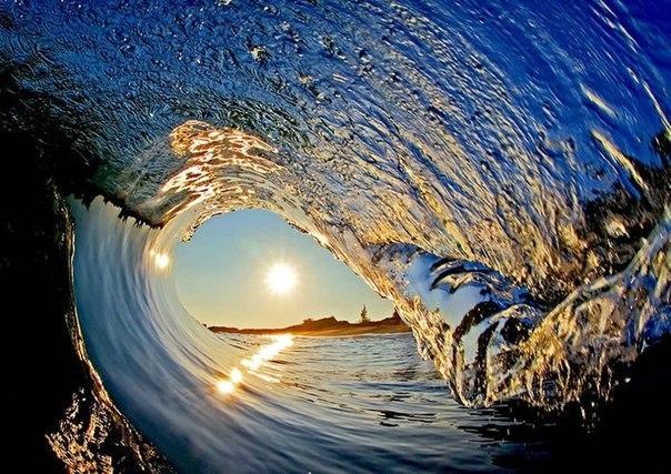 Красивые Гавайские волны фотографа Кларка Литтла