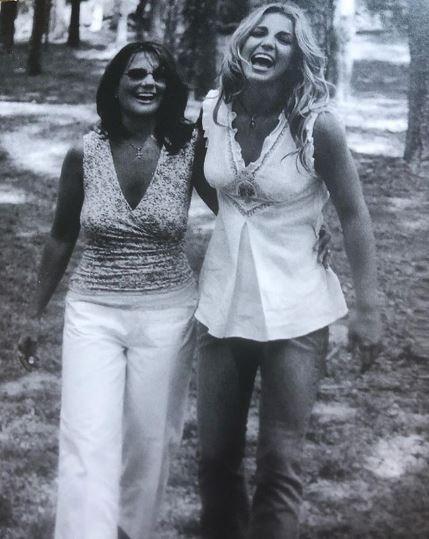 Брітні Спірс з мамою