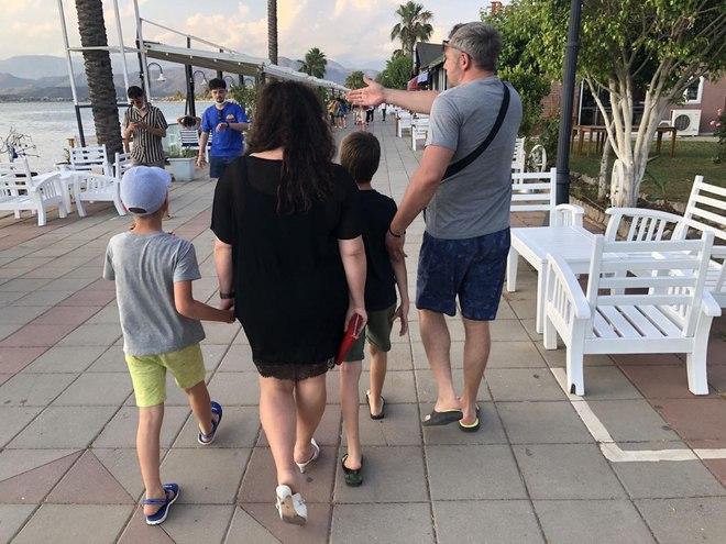 Наталья Холоденко и Дмитрий Карпачев в Турции