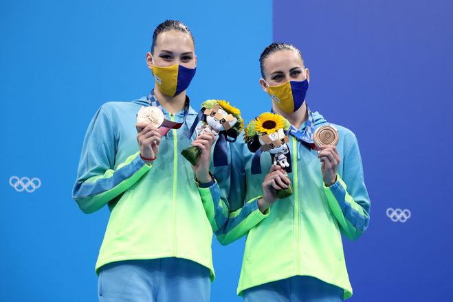 Марта Федіна та Анастасія Савчук, Олімпіада 2020