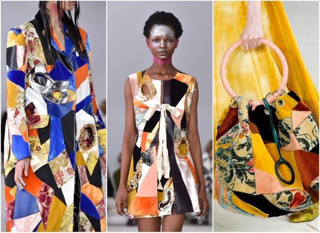 Стиль пэчворк — модная тенденция 2020