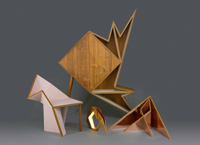 Меблі, надхненні орігамі