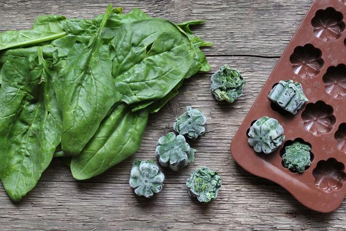 Как заморозить шпинат: три простых способа - tochka.net