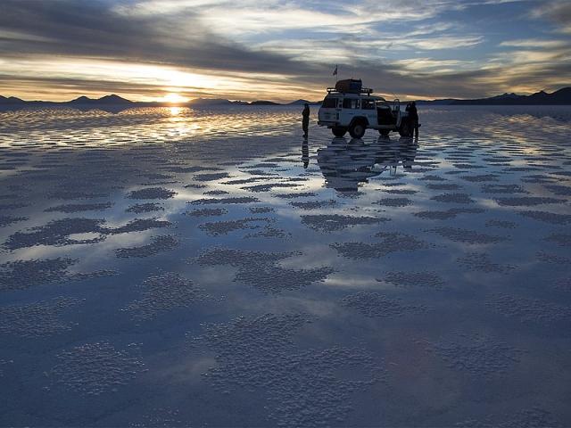 Самые необычные пустыни: солончак Уюни, Боливия