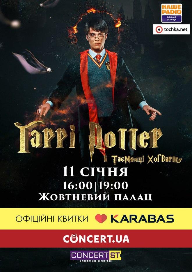 """Впервые: """"Гарри Поттер и тайны Хогвартса"""" оживет на киевской сцене"""
