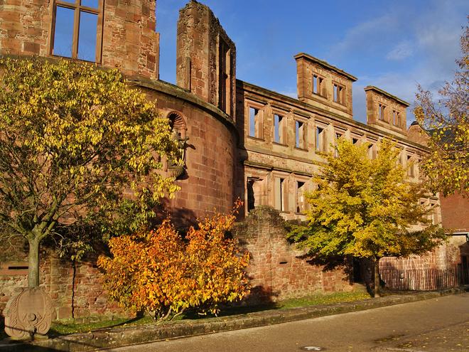 Замки осенью. Гейдельбергский замок