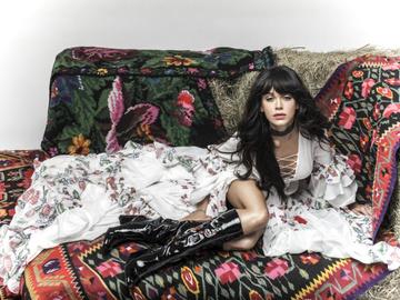 Мария Яремчук и Ольга Навроцкая представили модную съемку в стиле бохо