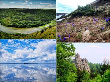 10 природних чудес України