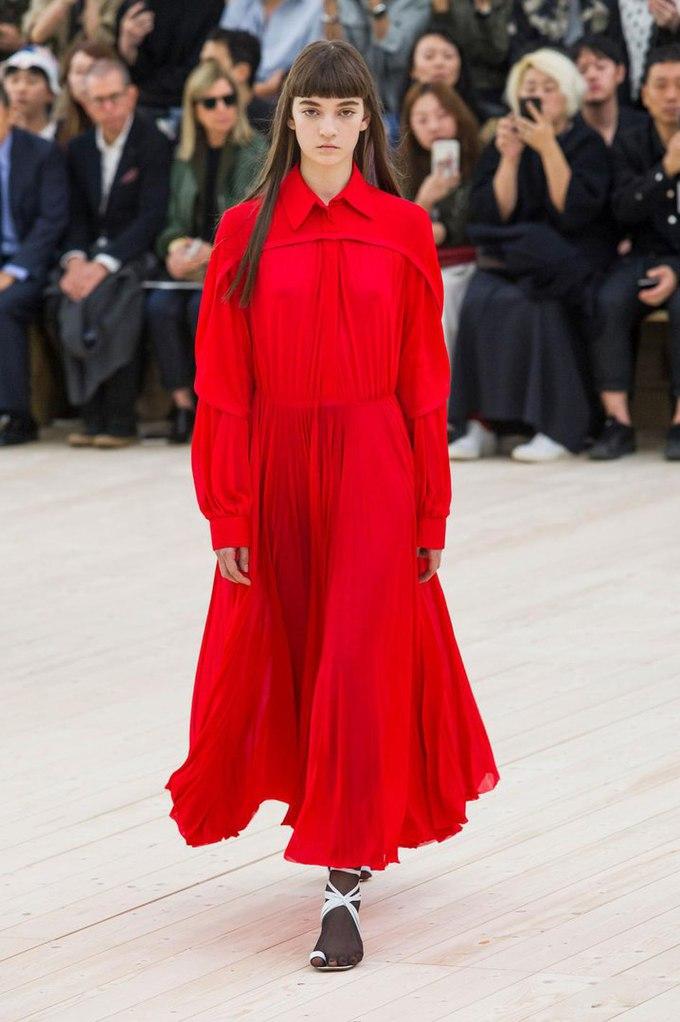 Українка Юлія Ратнер на подіумі паризького Тижня моди: Celine