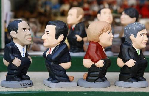 Каганеры: фигурки дефекации мировых лидеров(ЖЕСТЬ:)