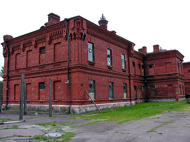 Достопримечательности Латвии: Тюрьма Кароста