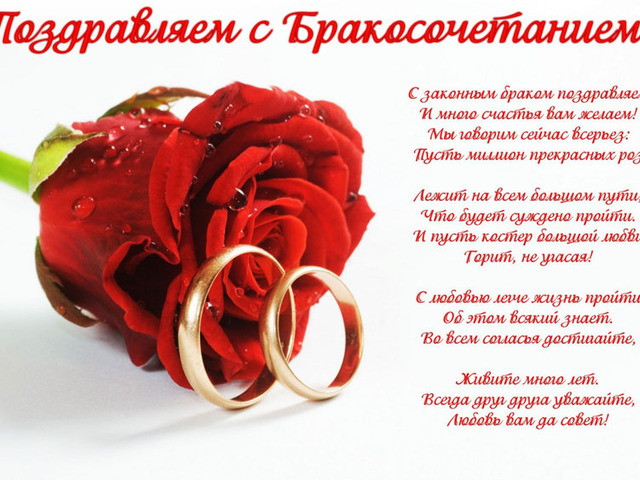 Поздравление для подруги с днём свадьбы дочери 550