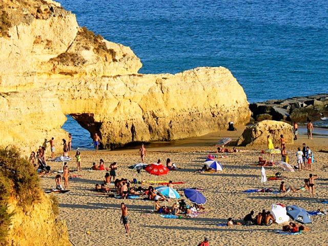 Пляжи Алгарве: Praia Da Rocha