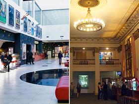 Сравнение кинотеатров Оскар и Киев