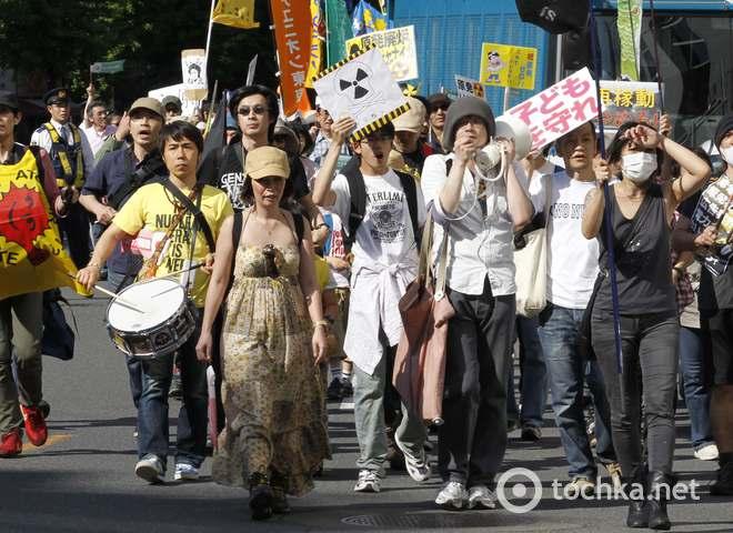 Протест проти атомної енергетики в Токіо