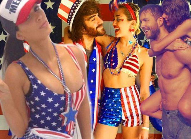 День независимости США: патриотические наряды знаменитостей