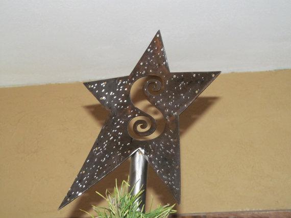 новогодняя звезда своими руками