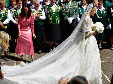 Свадебное платье дизайнера Екатерины Малышевой