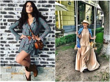 Украинские звезды: как одеваются летом
