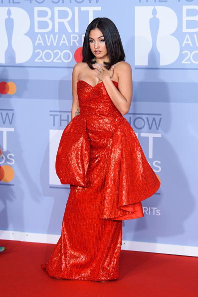 Зірки на червоній дорожці  The BRIT Awards