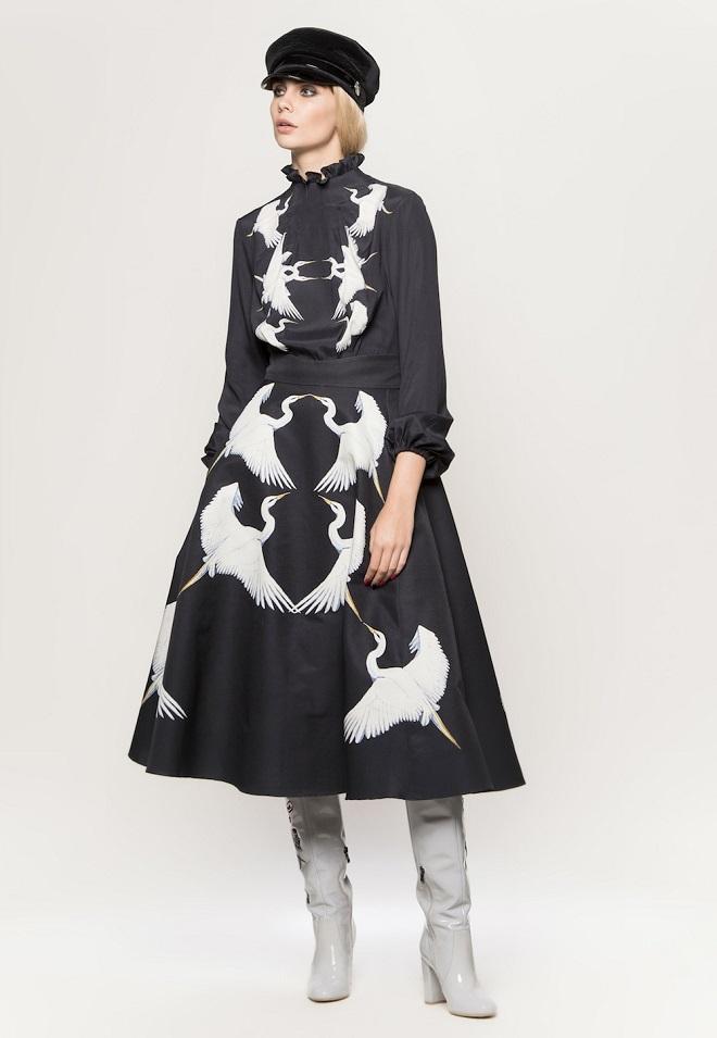 Актриса Хелен Миррен вышла в свет в блузе от украинского дизайнера