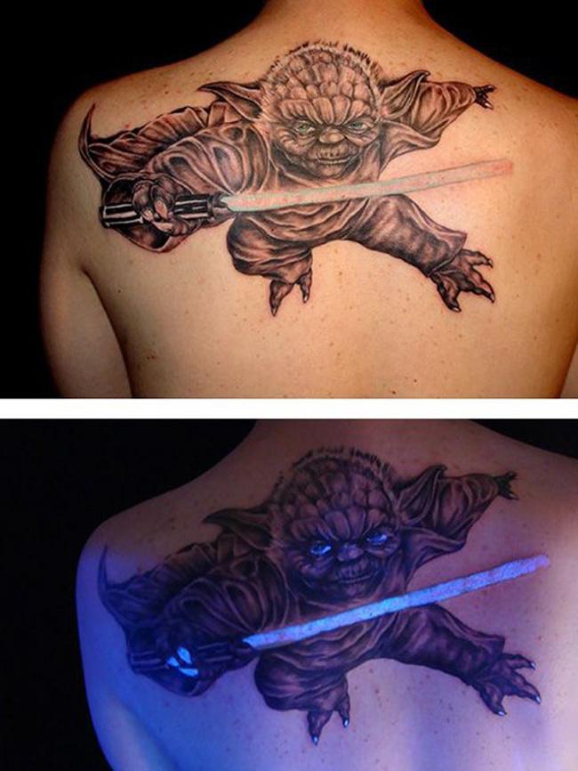 Неоновые татуировки
