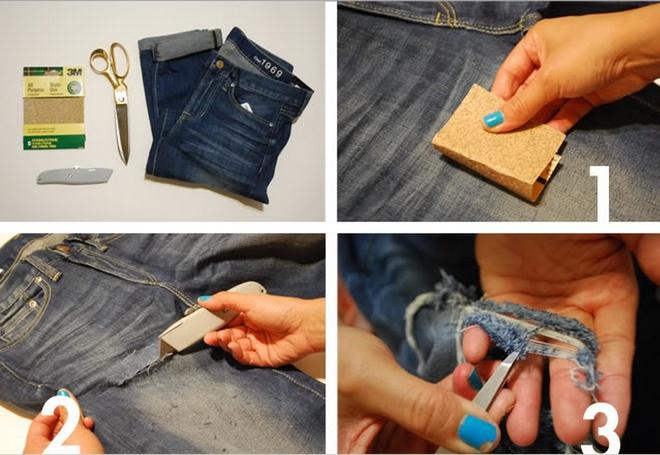 Рвані джинси інструкція