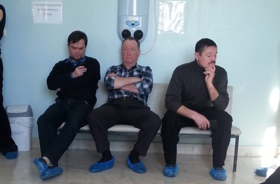 Микки–маус в поликлинике