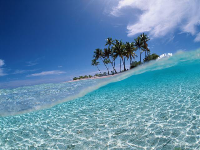 Летний островок