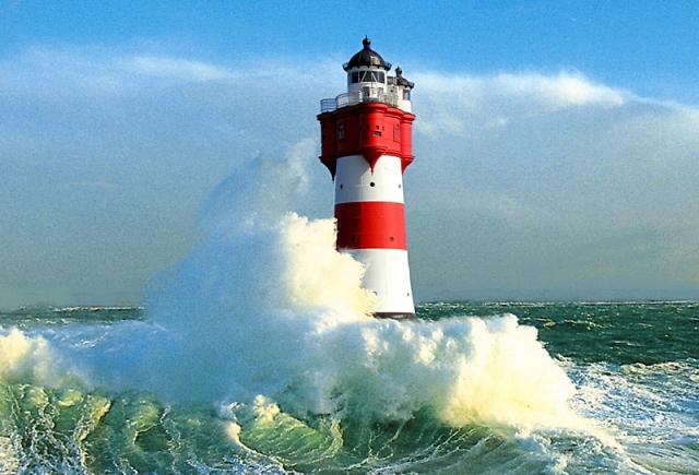 Готелі на маяках: промінчик світла в морі - Roter Sand - Бремен, Німеччина
