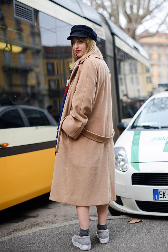 Как стильно одеться в прохладную погоду