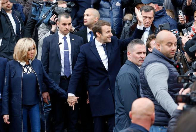 Брижит Макрон - первая леди Франции