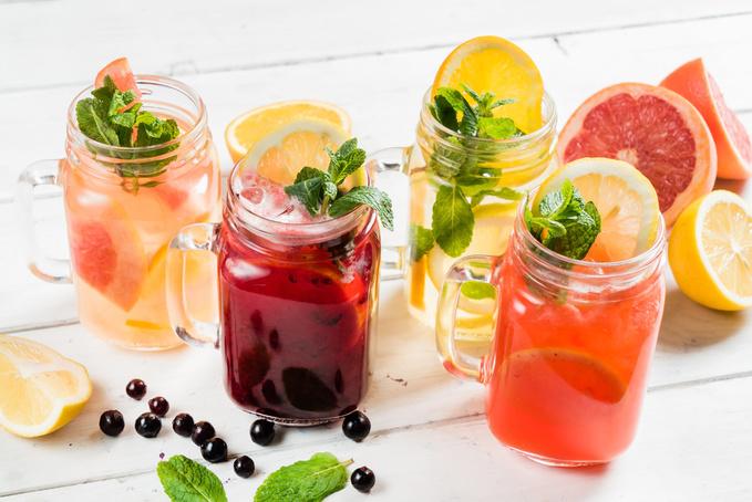 літні коктейлі - рецепти
