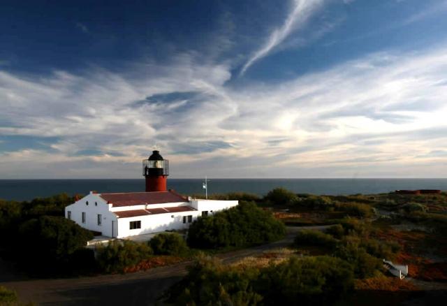 Готелі на маяках: промінчик світла в морі - Punta Delgada - півострів Вальдес, Аргентина