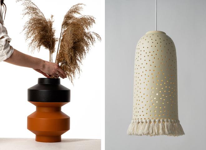 Современный керамический декор