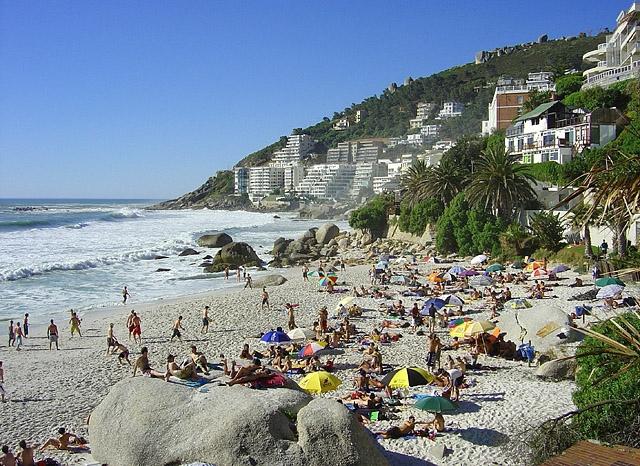 Топ-5 кращих міських пляжів в світі: Кліфтон-бич, Кейптаун, ПАР