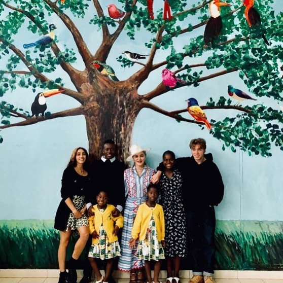 Мадонна поделилась редким кадром со своими детьми
