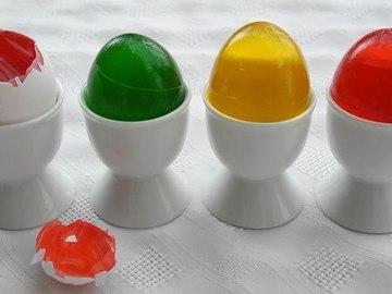 Желейні пасхальні яйця