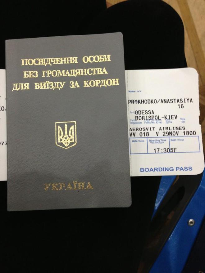Паспорт Приходько