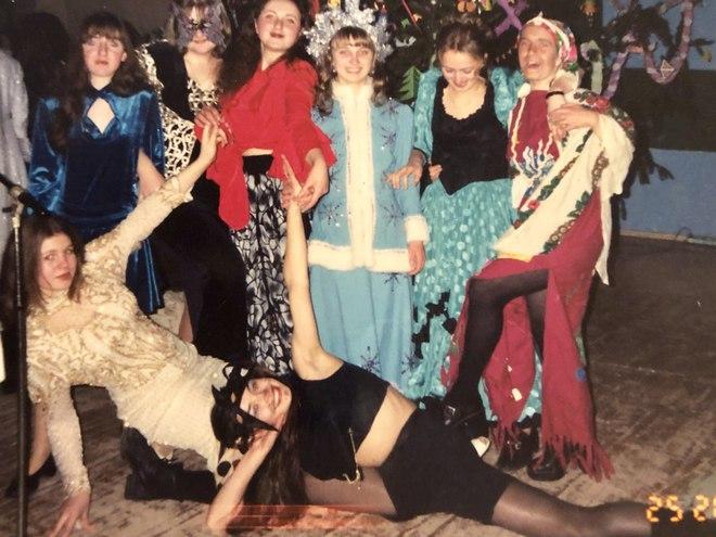 Надія Мейхер в музичному училищі — 1998 рік