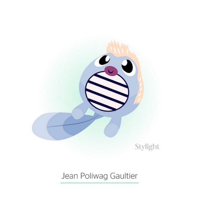 Жан-Поль Готье в образі покемона