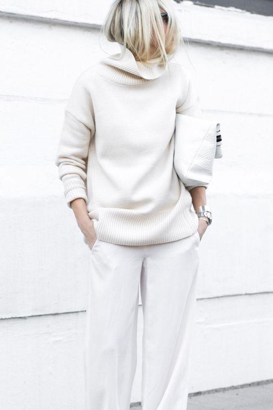 Белый цвет осень 2018