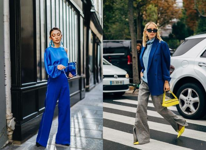 Справжній синій - модний колір на осінь 2020
