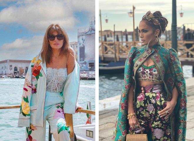 Гості показу Dolce & Gabbana Alta Moda