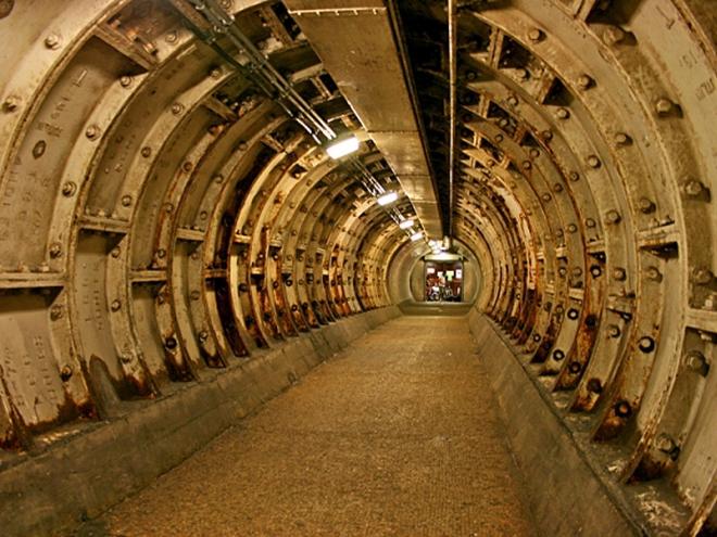Достопримечательности Лондона: Гринвичский пешеходный туннель