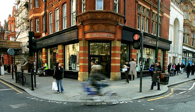 Сэвил-Роу: экскурсия в самое сердце британской моды: ателье Gieves & Hawkes