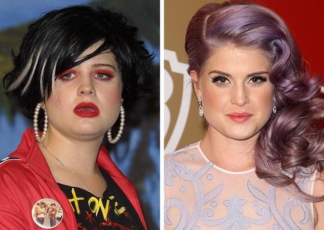 Знаменитости до и после работы стилиста